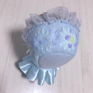 お人形用 ボンネット(帽子・ポンチョ)