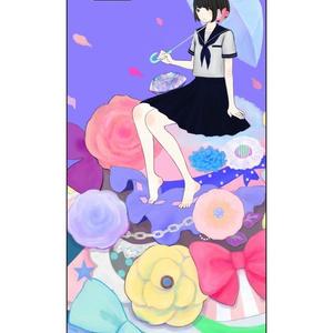 散る降る咲く【りばたデザイン】pixivクリエイターiphone5/5sケース
