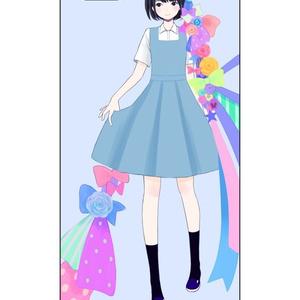 花咲く乙女【りばたデザイン】pixivクリエイターiphone5/5sケース