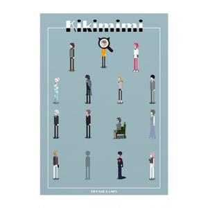 kikimimi!!|PixelArtポスター/アートプリントポスター