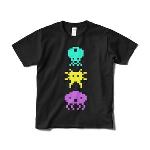 エイリアンズTシャツ 黒