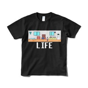 LIFE Tシャツ 黒