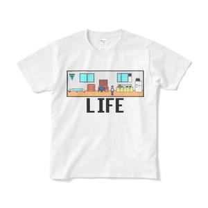 LIFE Tシャツ 白