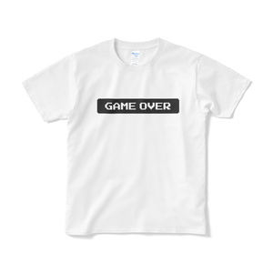 GAMEOVER Tシャツ 白