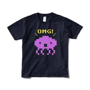 OMG! Tシャツ ネイビー