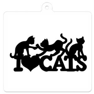 I♡LOVE CATS キーホルダー