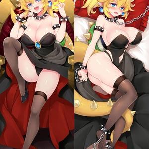 スーパー●リオブ●ザーズ+〇ッパ姫-抱き枕カバー新作【18130】