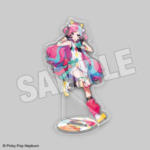 アクリルスタンド【Pinky Pop Hepburn Official】