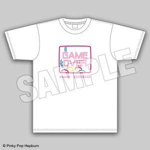 GAME OVER Tシャツ【Pinky Pop Hepburn Official】