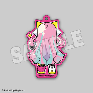 寺田てらさんが描いてくれたアクリルキーホルダー 全5種【Pinky Pop Hepburn Official】