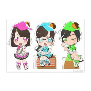 【プリチャン】Orangette ポストカード【マイキャラ】