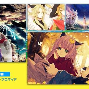 「たつのもり日和」収録イラストプロマイドセット(48枚)