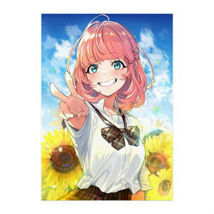 【ピンクボブちゃんと夏】ポスター