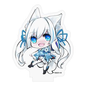 狐狐音の前アクリルスタンドフィギュア【こんココver】