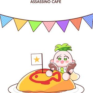 【缶バッジ】リゾット・ソルベジェラートセット
