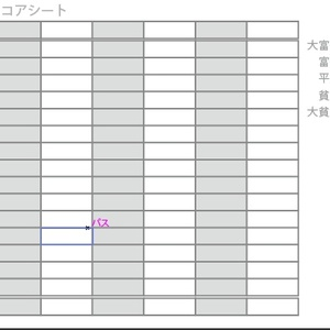大富豪順位札&大富豪スコアシート(pdf)