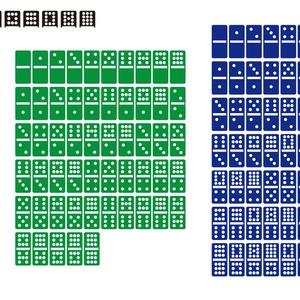 ドミノ碑グラフィック素材(Aiデータ)