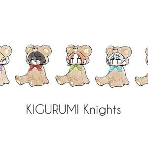 Knights kigurumi アクリルキーホルダー