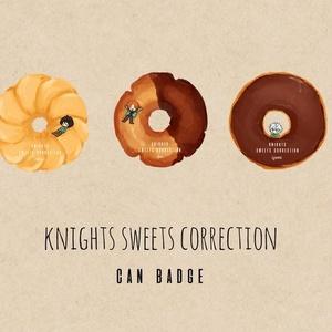 Knights ドーナツ缶バッジ