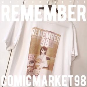 【新作】REMEMBER98 Tシャツ XLサイズ