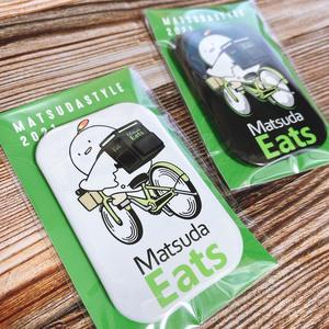 Matsuda Eats 缶バッチ