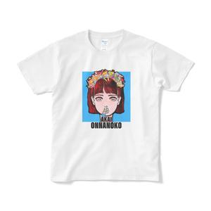 AKAI ONNANOKO Tシャツ