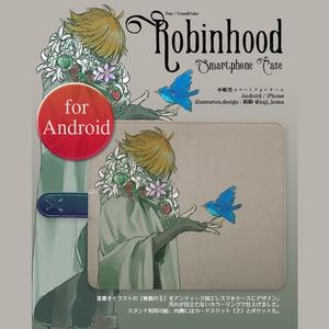 再販【ロビンフッド:無貌の王】手帳型スマホケースfor Android