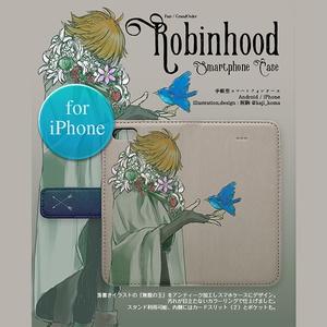 再販【ロビンフッド:無貌の王】手帳型スマホケースfor iPhone