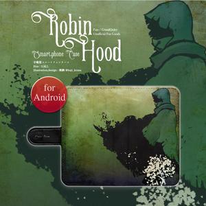 【ロビンフッド:森】手帳型スマホケースfor Android