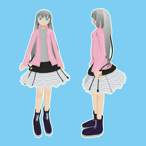 オリジナル3Dモデル「phono」