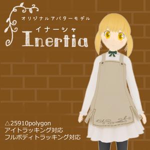 オリジナル3Dモデル「Inertia」