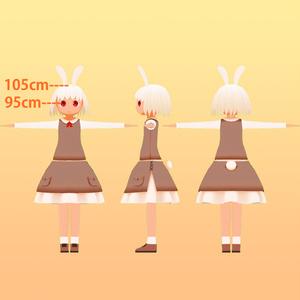 オリジナル3Dモデル「ロップ リマスターバージョン」