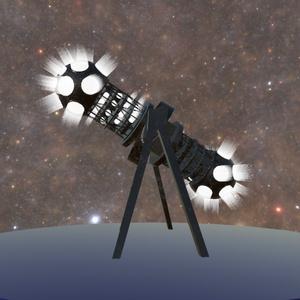 3Dモデル プラネタリウム