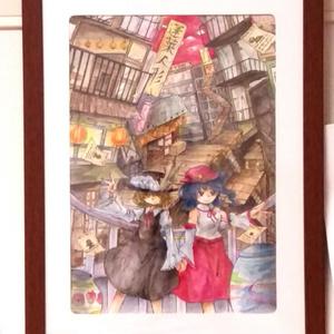 【原画】蓬莱人形