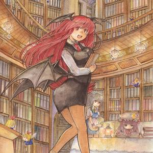 紅魔郷 ヴワル魔法図書館へようこそ 原画