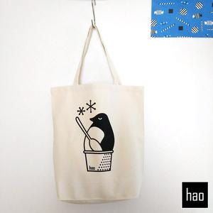おいしいペンギントートバッグ