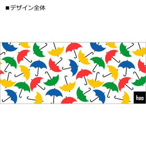 カラフル傘模様のマグカップ