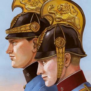 共通軍竜騎兵少尉ポストカード