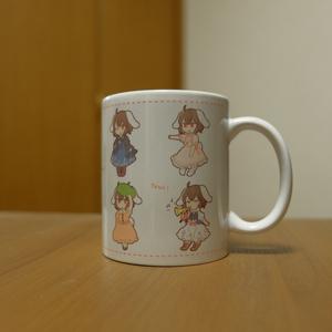 てゐちゃんマグカップ