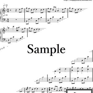 【楽譜・楽曲】アクアの旅路 ピアノver.
