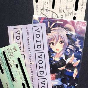 神崎蘭子[Girls in the Frontier.ver] / チケットパスケース【歌姫庭園17】