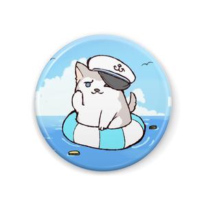 ちるふ缶バッジ(ヨーソローオオカミ)