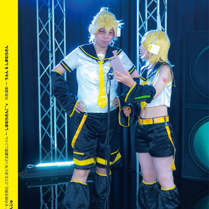 みぎに黄色四号(おうしょくよんごう) 鏡音リン コスプレ写真集