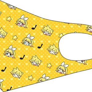 【在庫希少】ストレッチマスク 鏡音リン,鏡音レン,結月ゆかり 純,MEIKO,KAITO
