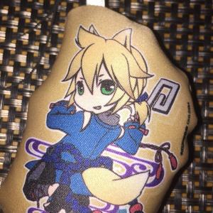 クッションストラップ 鏡音 蘇芳妖狐x藍鉄妖狐 (両面印刷) / 584