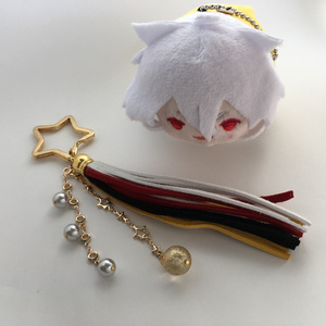 【刀剣乱舞 三条】タッセルキーリング 金