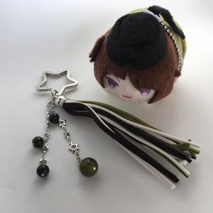 【刀剣乱舞 三条】タッセルキーリング 銀