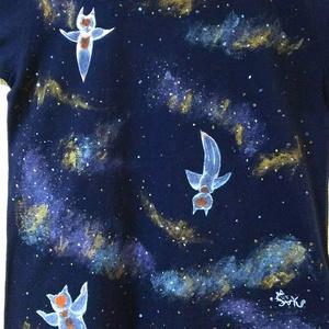 👚【1点物】星空のクリオネTシャツ