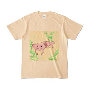 """""""ウーパールーパー""""Tシャツ"""
