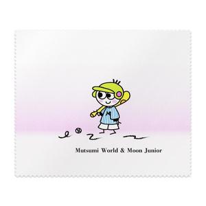 Mutsumi World & Moon Junior メガネ拭き 野球柄